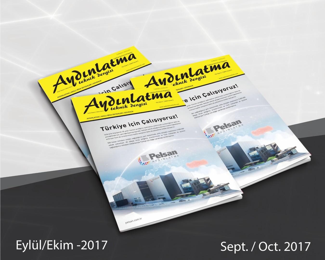 Aydınlatma Teknik Dergisi Eylül/Ekim 2017