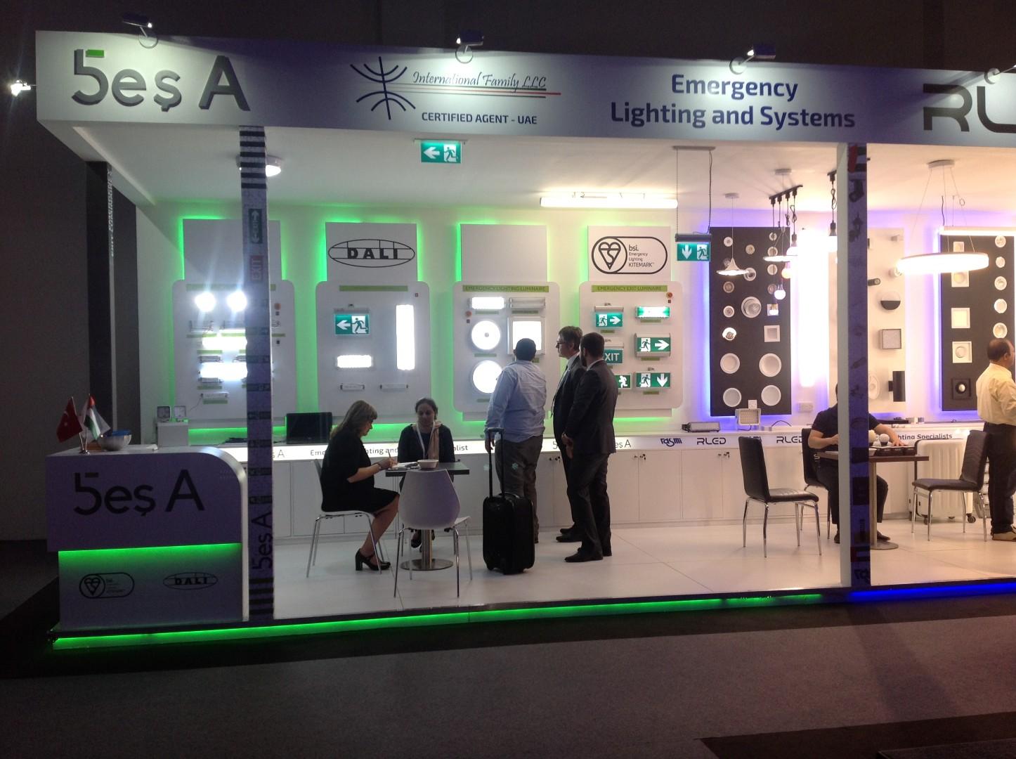 Dubai Light Middle East 2017  Fuarına Katılan Türk Firmaları
