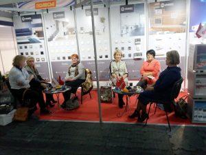 Makel Beyaz Rusya Ev Gereçleri ve Tasarımı Fuarı'nda göz doldurdu.