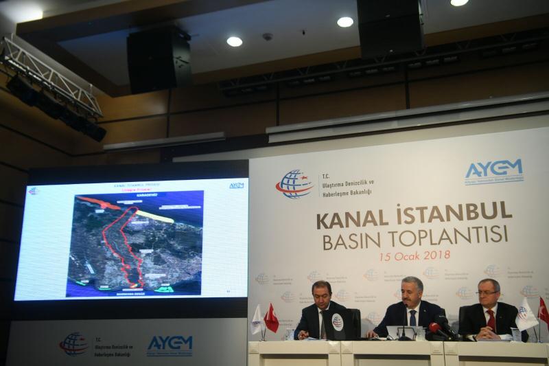Kanal İstanbul Projesi`nin Güzergahı Açıklandı