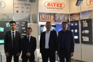Altez Electronic Light+Building 2018 Fuarı