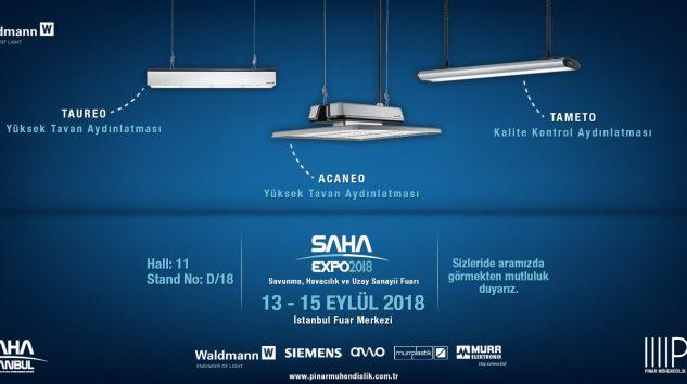 PINAR MÜHENDİSLİK Saha Expo 2018 Fuarına katılıyor