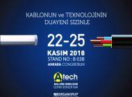 BORSAN, A-Tech 2018 Fuarında Yer Alıyor…