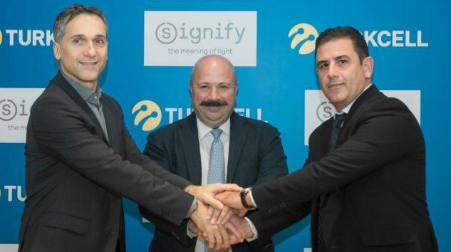 Turkcell ve Signify Verimli Enerji İçin Bir Araya Geldi