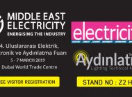 Middle East Electricity 2019!