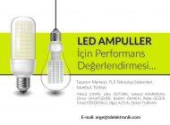 LED Ampuller İçin Performans Değerlendirmesi