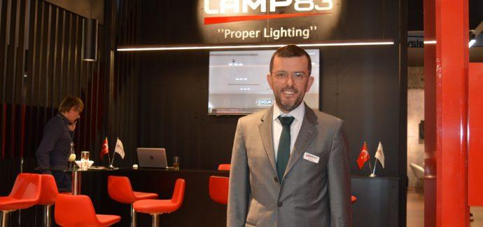 LAMP 83'E LIGHT + BUILDING'TE ZİYARETÇİ AKINI…