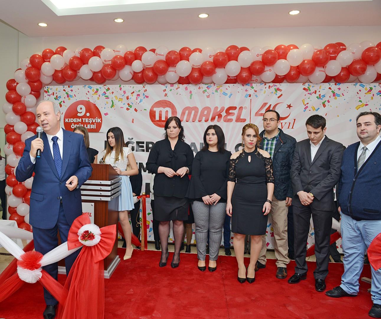 Makel Şirketler Grubu 40.yılını görkemli bir tören ile kutladı.