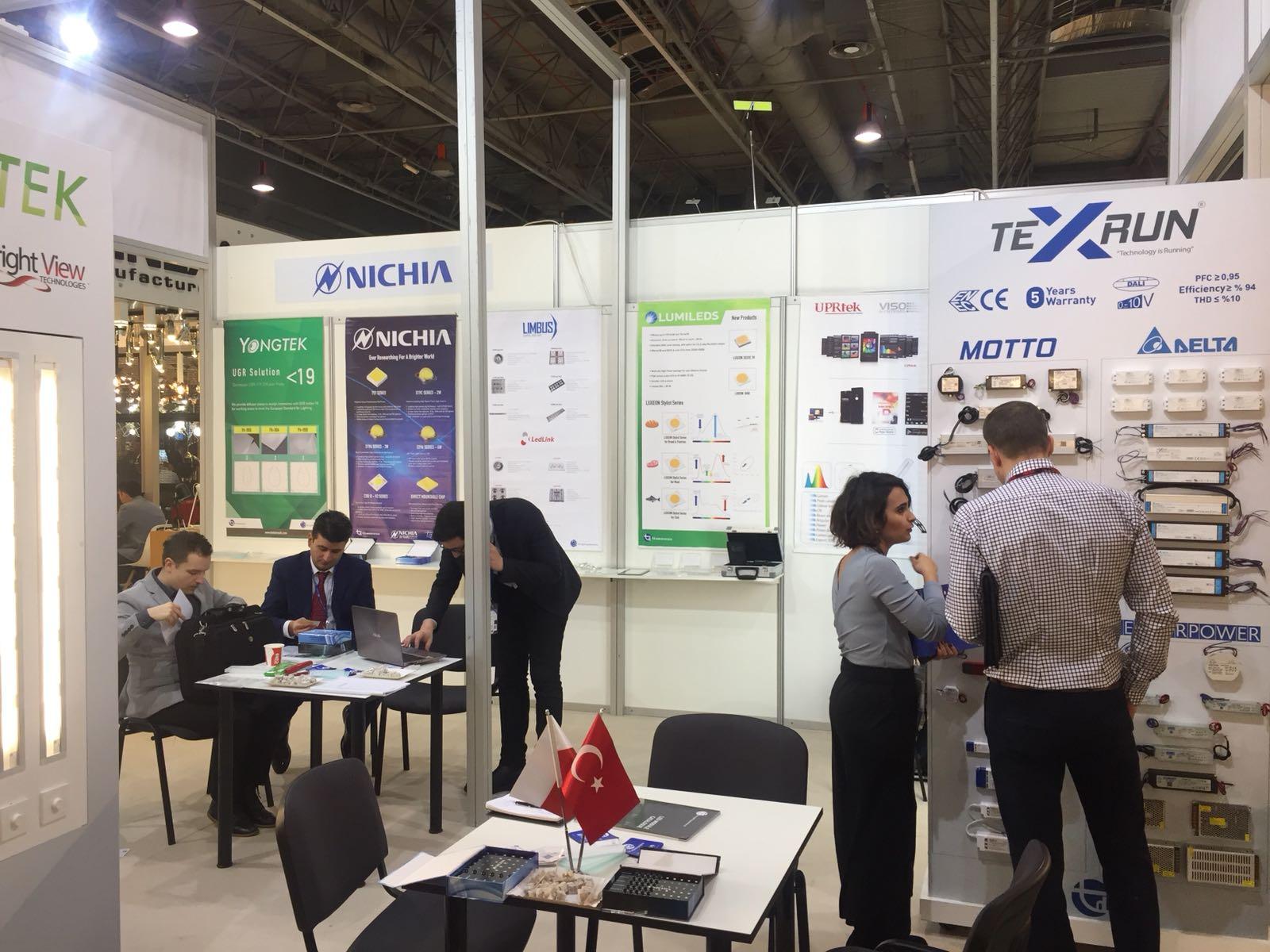 TD Elektronics Varşova Light 2018 Fuarında Yoğun İlgi Gördü
