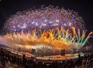 Moskova'daki Işık Çemberi festivali sona erdi (Light Move Festival 2018 )