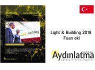 Aydınlatma Teknik Dergisi Light & Building 2018  Fuarı eki