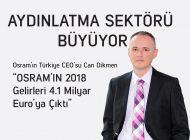 Osram'ın 2018 gelirleri 4.1 milyar Euro'ya çıktı