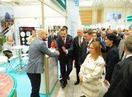 Borsan  Türkmenistan Türk İhraç Ürünleri  Fuarında İlgi Odağı Oldu