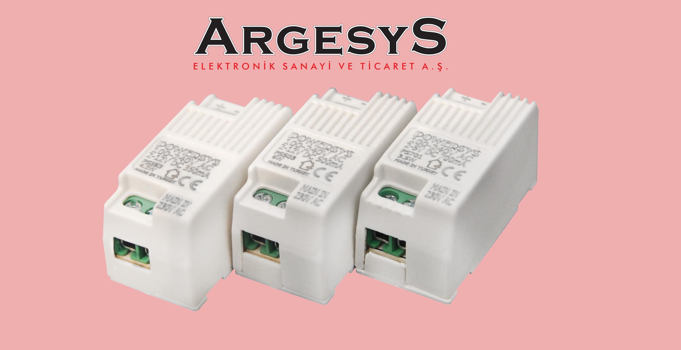 "ARGESYS Sabit akım LED driver ""ALXPOWERSYS"""