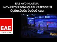 """EAE Aydınlatma """"İnovasyon"""" Ödülü Aldı"""
