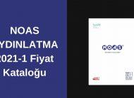 NOAS AYDINLATMA 2021-1 Fiyat Kataloğu