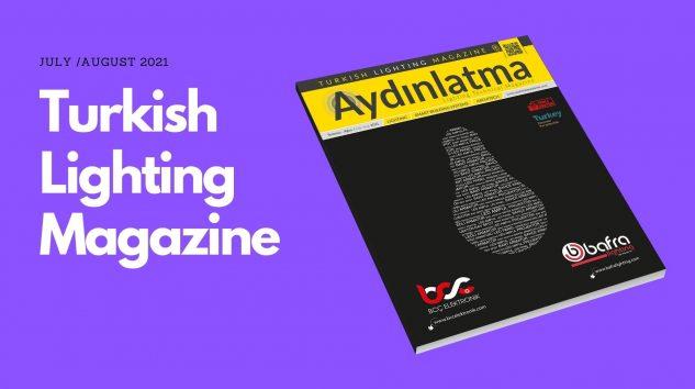 Aydınlatma Teknik Dergisi July /August 2021